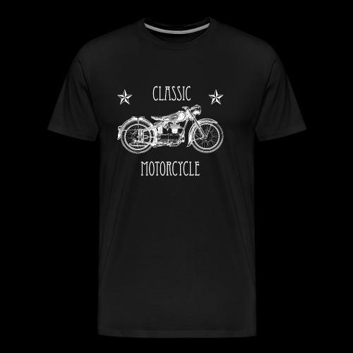 Classic Motorcycle - Männer Premium T-Shirt