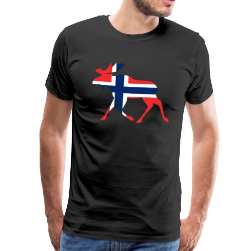 Norwegen Elch - Männer Premium T-Shirt