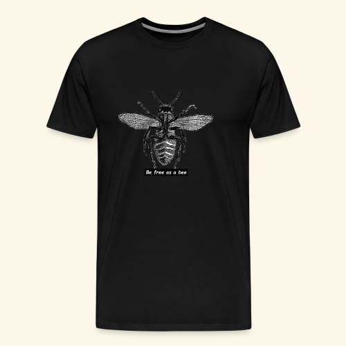 be free as a bee - T-shirt Premium Homme
