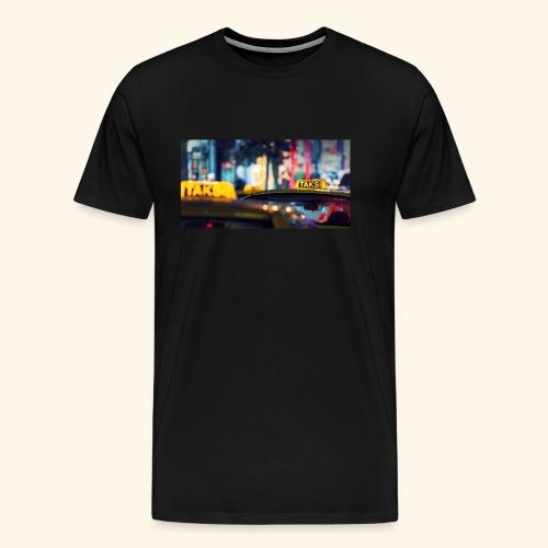 Taksi - Männer Premium T-Shirt