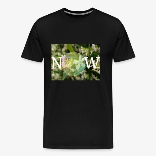 NOW Flowerdesign - Männer Premium T-Shirt