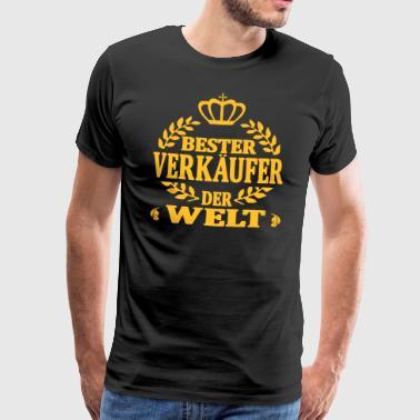 Bester verkäufer der welt - Männer Premium T-Shirt