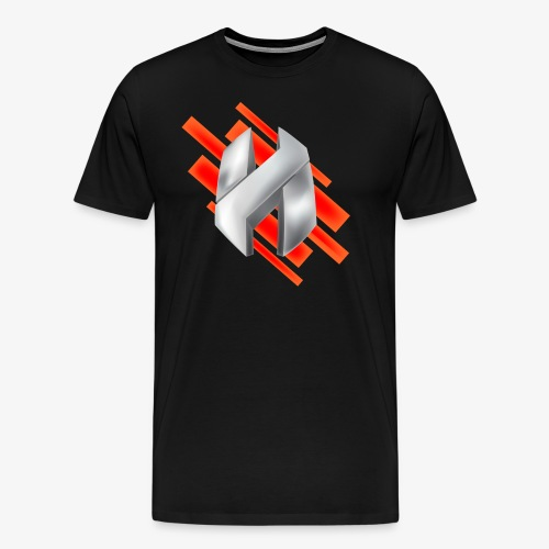 Abstract Red - Men's Premium T-Shirt