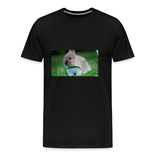 Außer Häschen T-shirt - Männer Premium T-Shirt
