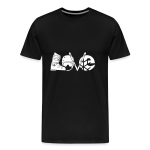 Skiing Love Shirt - Men's Premium T-Shirt