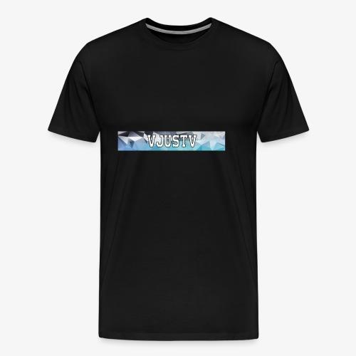 VJustV Banner - Männer Premium T-Shirt