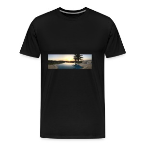 Sunset photo - Men's Premium T-Shirt