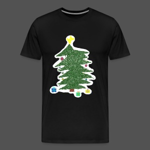 Christmas Kids-Drawing - Männer Premium T-Shirt