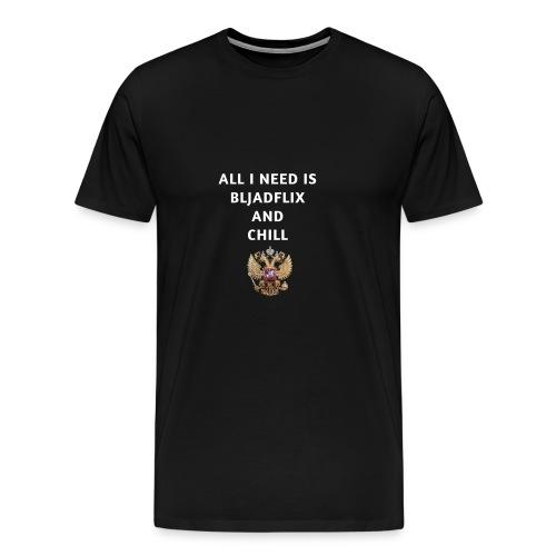 Russia Russland Russian Vodka Putin Geschenk gift - Männer Premium T-Shirt