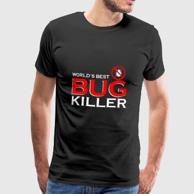 Exterminator gave - pest exterminator bugs - Premium T-skjorte for menn