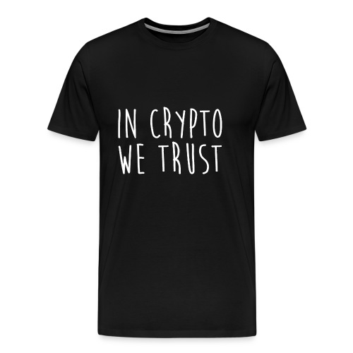 Cryptotrust - Männer Premium T-Shirt