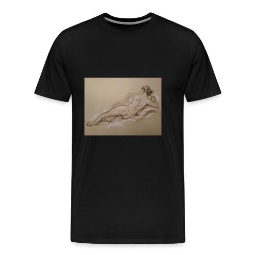 Frauenkörper - Männer Premium T-Shirt