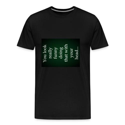 funny - Mannen Premium T-shirt