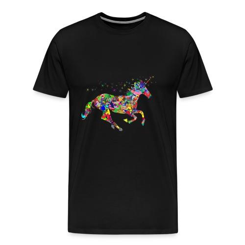 Unicornio magico - Camiseta premium hombre