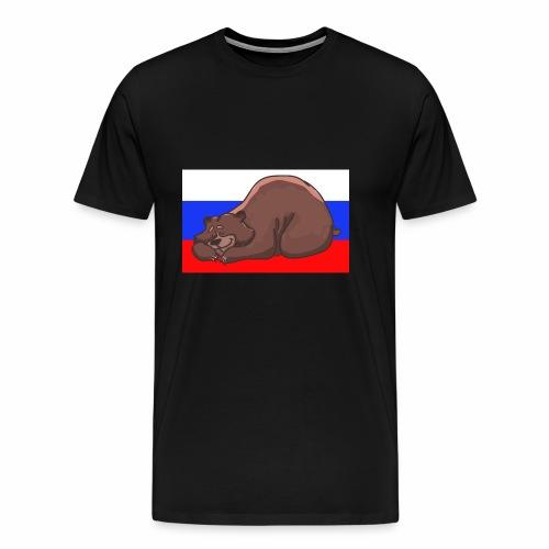 Russian Bear - Männer Premium T-Shirt
