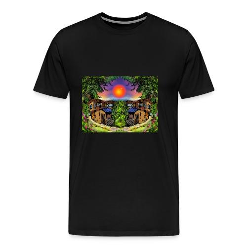 ArtBulgaria Nessebaar Kopi4 - Männer Premium T-Shirt