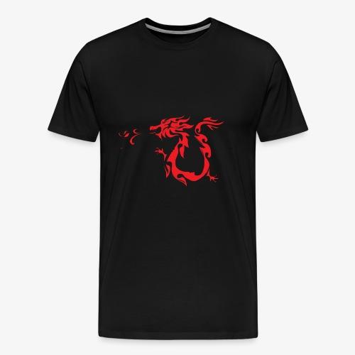 Red Dragon - Maglietta Premium da uomo