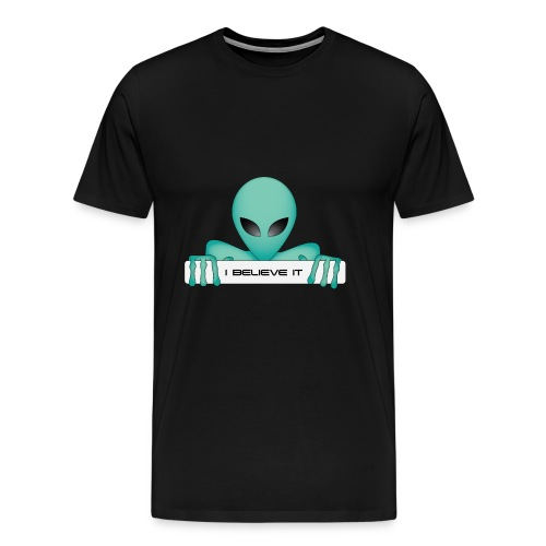 (Alieni)..io ci credo - Maglietta Premium da uomo