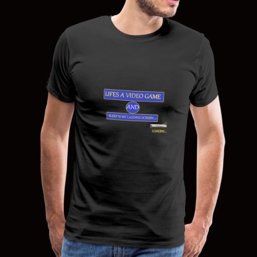 video sleep - Men's Premium T-Shirt
