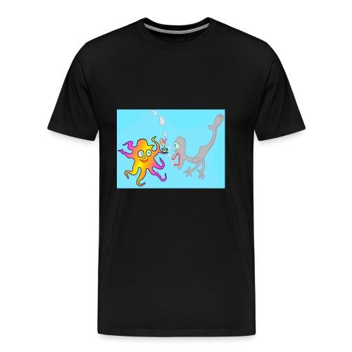 Unter Wasser - Männer Premium T-Shirt
