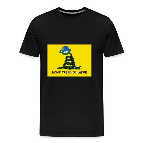 DONT TREAD ON MEME – Gör Sverige lagom igen! - Premium-T-shirt herr