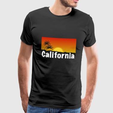 Kalifornien Shirt - Sonne, Strand und Palmen! - T-shirt Premium Homme