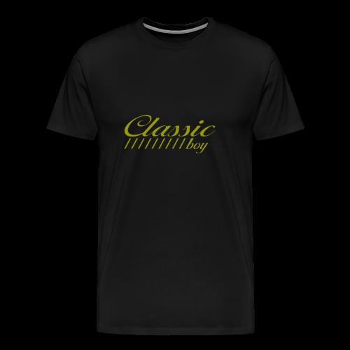 ClassicBoyGold - Männer Premium T-Shirt