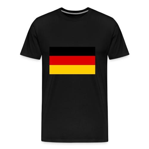 Deutsche flage - Männer Premium T-Shirt