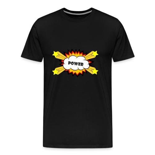 Power Comic Explosion - Männer Premium T-Shirt