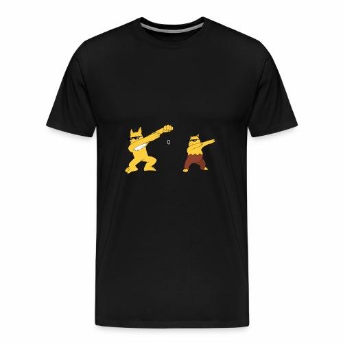 Saffron city gym - Men's Premium T-Shirt