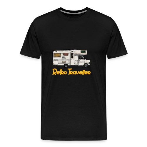 Retro Traveller - Men's Premium T-Shirt
