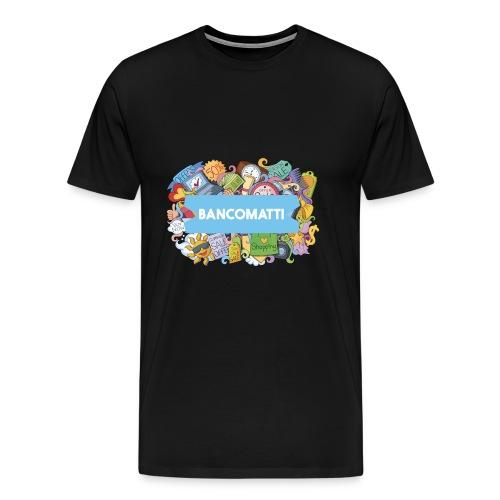 Bancomatti DOODLE 1 - Maglietta Premium da uomo