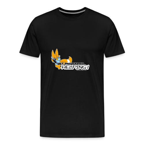 Set Phasers to Helping - Men's Premium T-Shirt