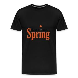T-shirt met logo Theatergroep Spring | Unisex - Mannen Premium T-shirt