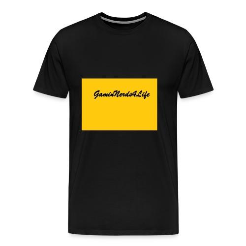GamingNerds4Life - Premium T-skjorte for menn