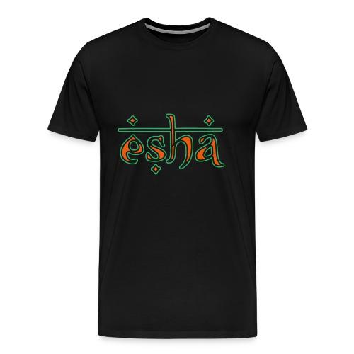 esha logo - Männer Premium T-Shirt