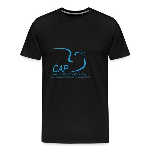 caplc logo ngo fr - T-shirt Premium Homme