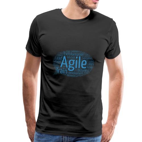 Die agile Buzzword-Sprechblase - Männer Premium T-Shirt