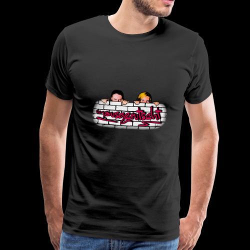 mausgerutscht Faces - Männer Premium T-Shirt