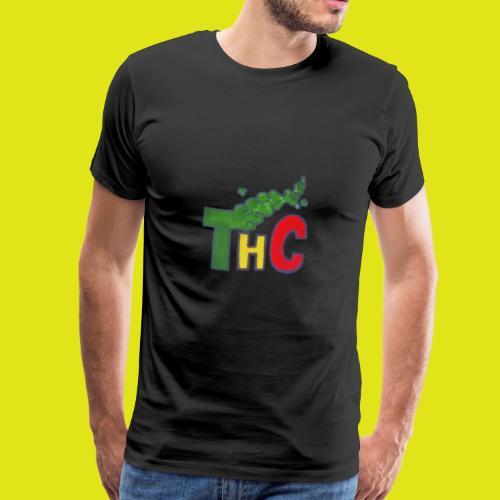 THC logo one - Maglietta Premium da uomo