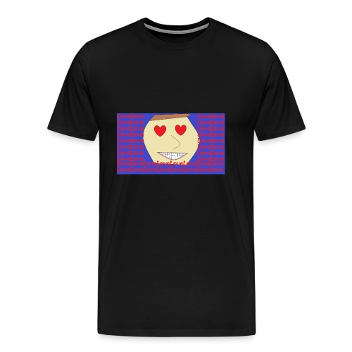 Love x1000 - Premium-T-shirt herr