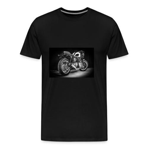 Monia's Thruxton 'Performance Scrambler' - Men's Premium T-Shirt
