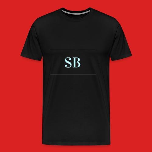 Sb blue logo merch - Men's Premium T-Shirt