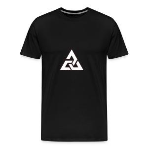 Großes Logo [JxsyFX] - Männer Premium T-Shirt