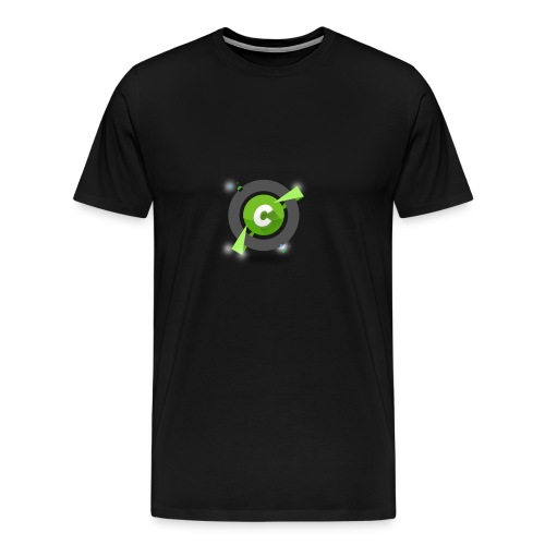 logo becurious png - Maglietta Premium da uomo