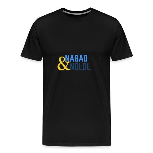 Nabad iyo nolol - Premium-T-shirt herr