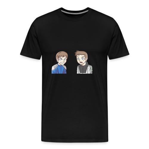 BAD PANDA & EPIC MONSTER - T-shirt Premium Homme