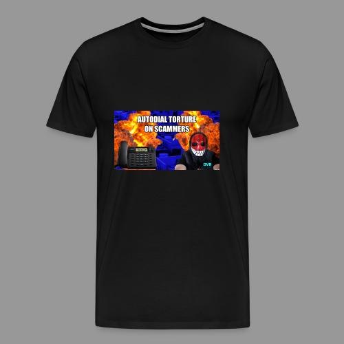 deeveeaar autodial shirt - Men's Premium T-Shirt