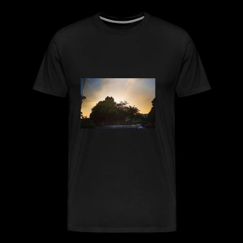 Sonnenstrahlen - Männer Premium T-Shirt