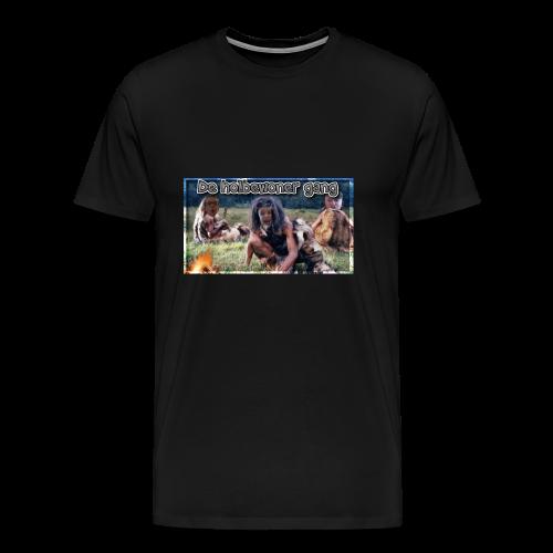 holbewoner gang - Mannen Premium T-shirt